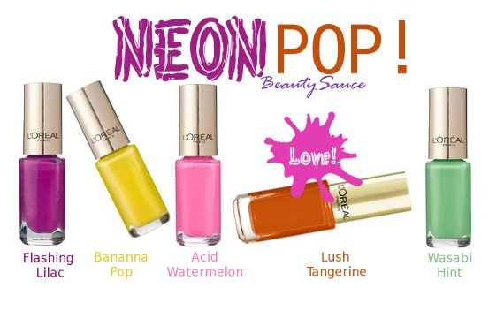 loreal neon pop