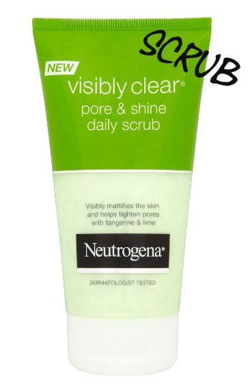 Neutrogena pore and shine scrub