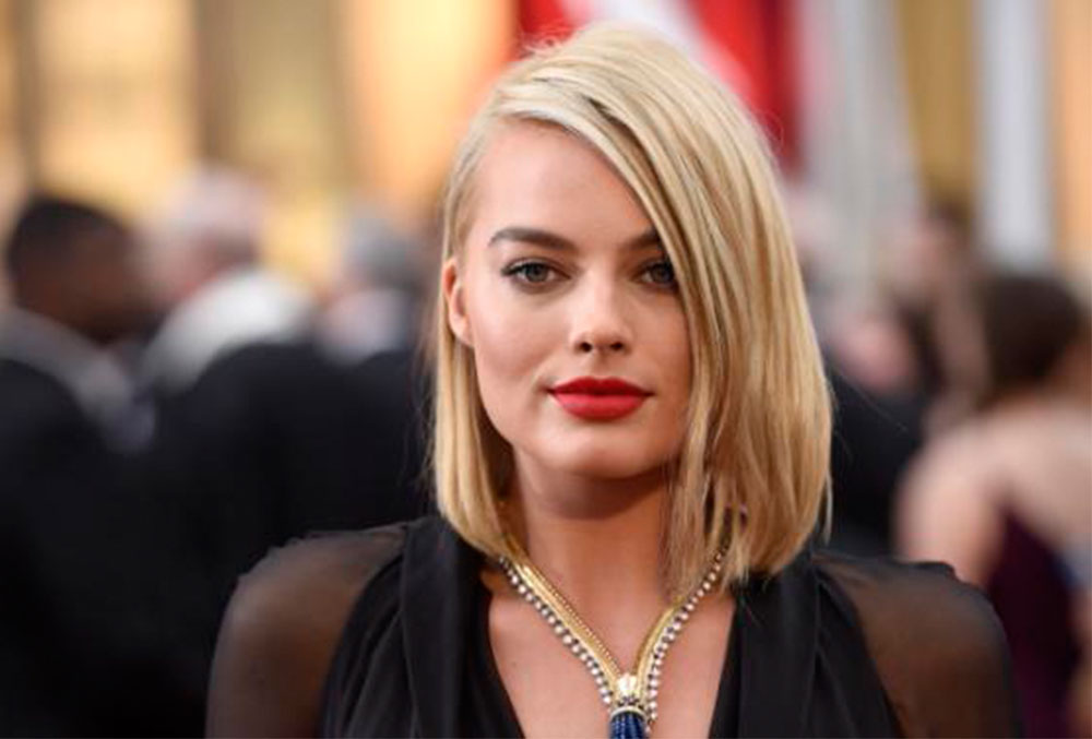 MARGOT ROBBIE OSCARS 2015 MAKEUP