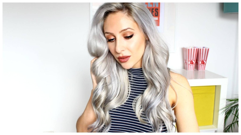 how to curl and apply hair extension