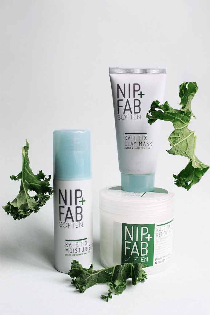 nip + fab soften KALE collection