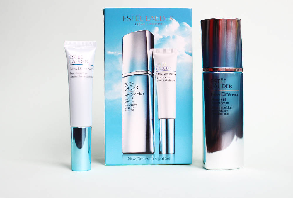 ESTEE LAUDER new dimension shape and fill serum + liquid tape