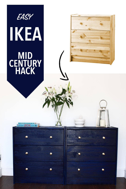 IKEA MID CENTURY HACK