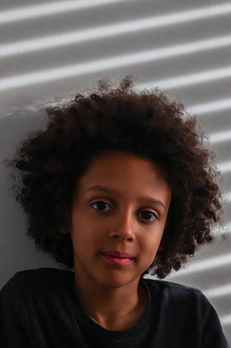 kids with afro hair