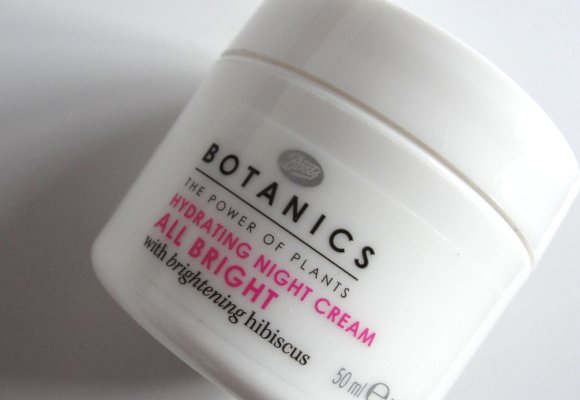 botanics hydrating night cream