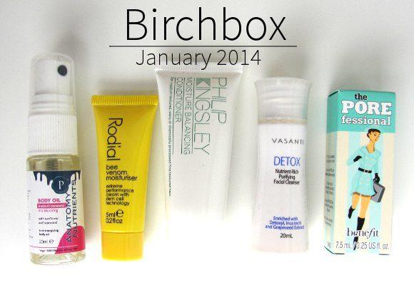 birchbox january 2014