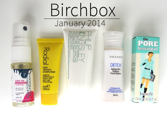 birchbox january 2014