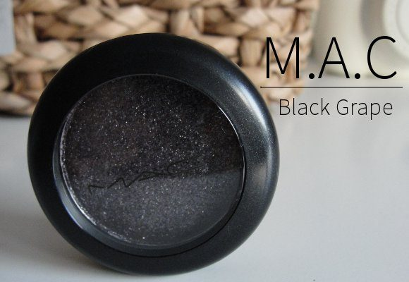 MAC black grape pressed pigments