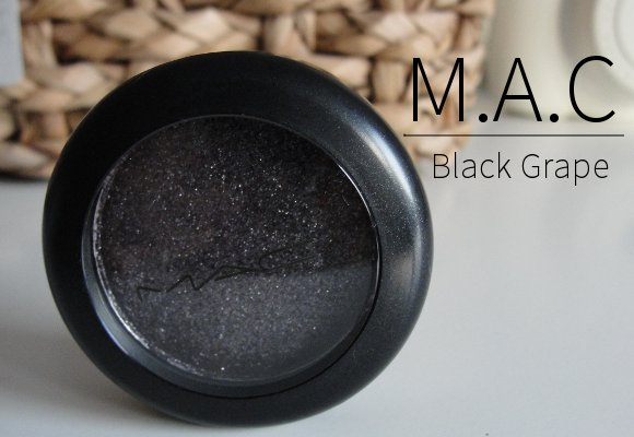 MAC black grape pressed pigments