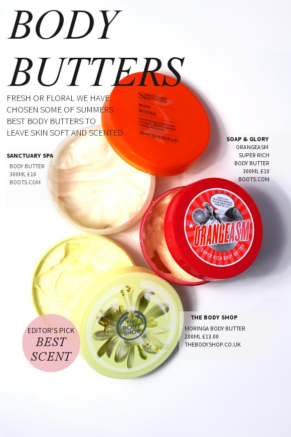 body butter summer