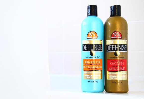 Daily Defense Argan Oil & Keratin Conditioners