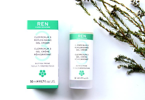 REN ClearCalm 3 Replenishing Gel Cream Review