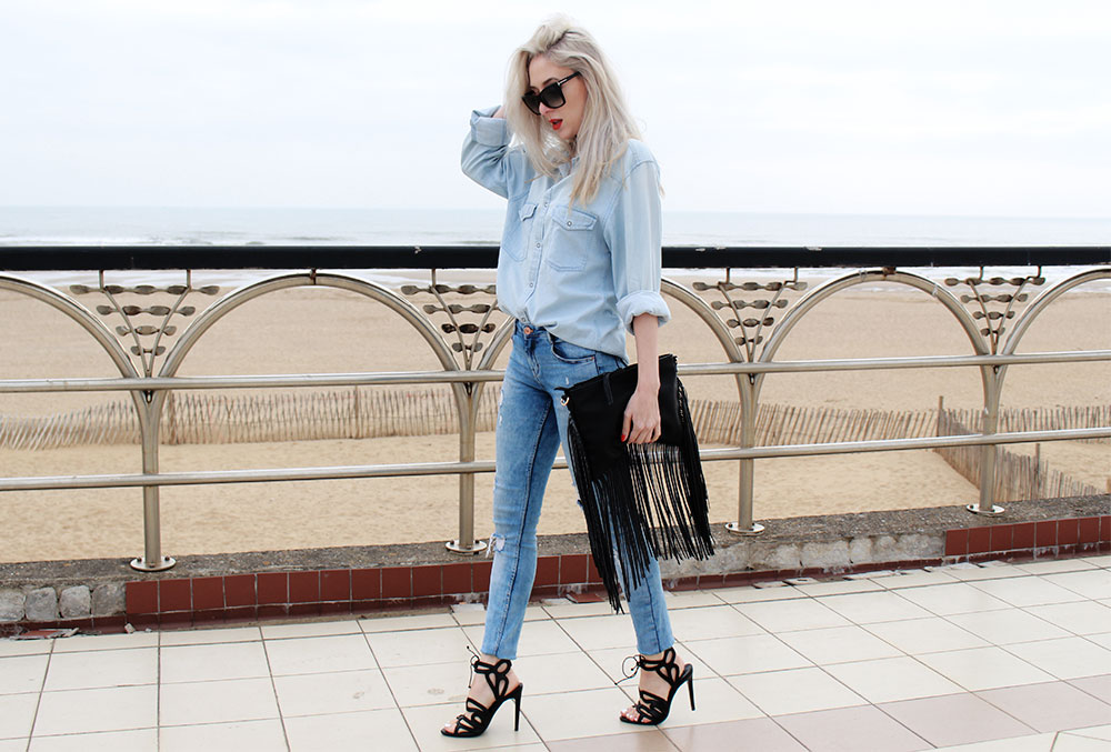 double denim carly musleh uk fashion blogger