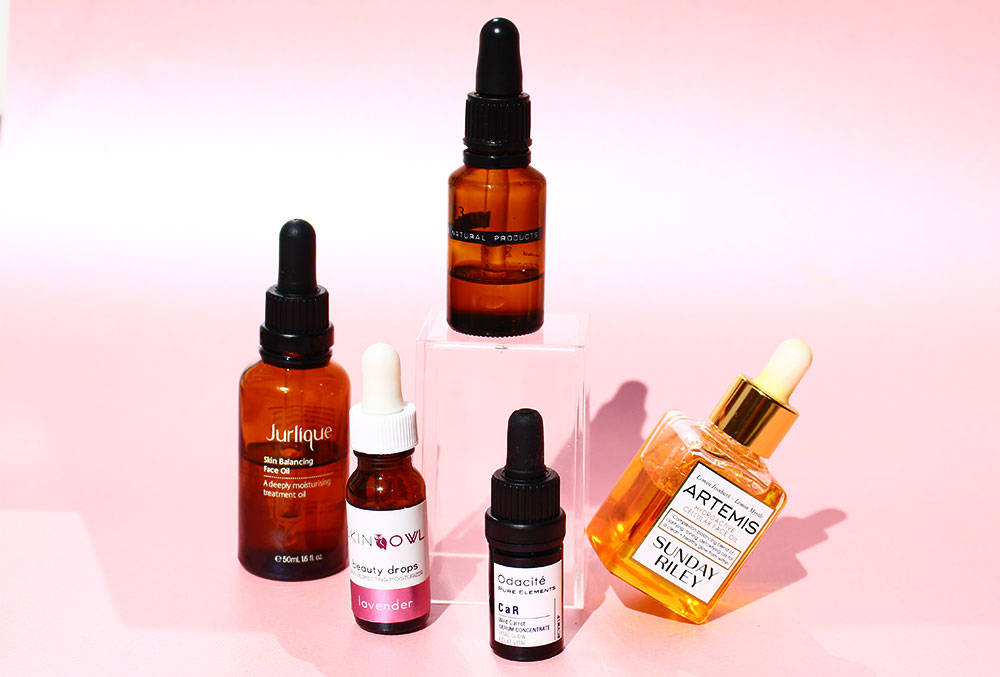 5 face oils to try
