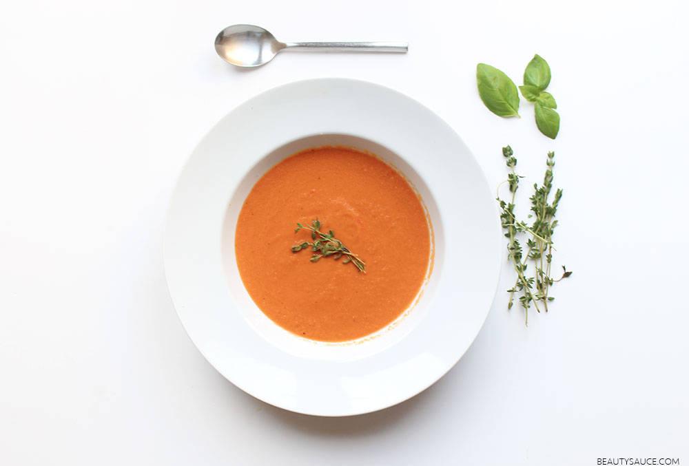 Autumn's Aromatic Appetiser: Vine Tomato Soup