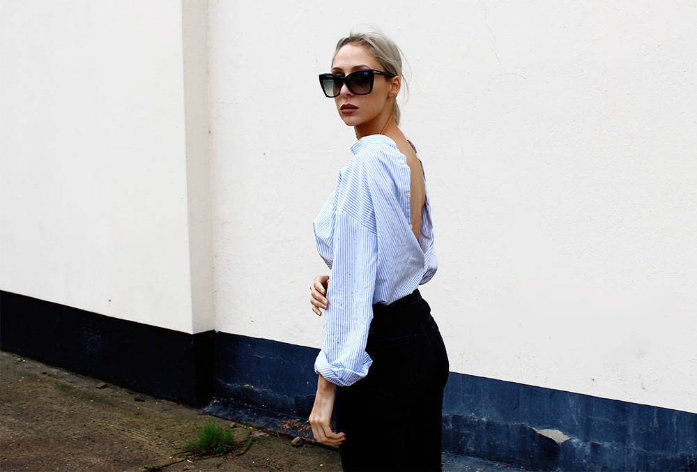 Rework Your Shirt - The Backwards Button Down