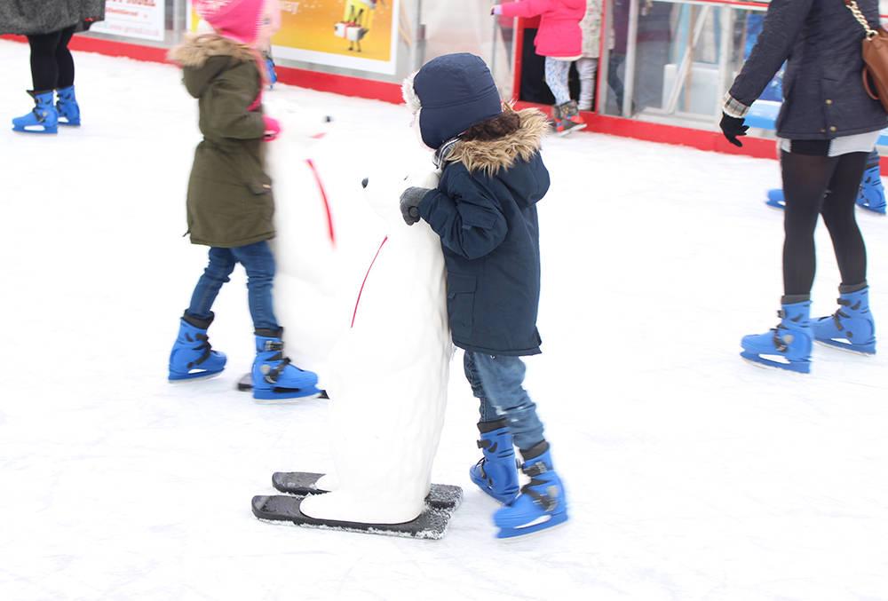 Keel Square ice skating