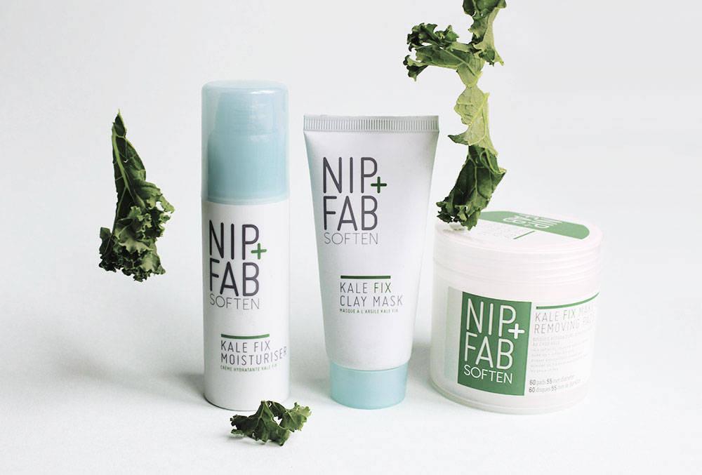 nip + fab soften KALE collection